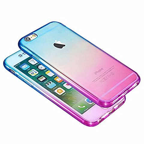 Shockproof 360° Silicone Protective Hybrid Clear Case Cover For Apple iPhone 7 6S Plus 6S 6 SE 5S 5C 5 4S 4 (iPhone 6/6s,