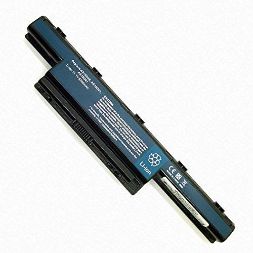 Neue und kompatibel Laptop akku für Acer Packard Bell Gateway eMachines Series Lehrmittel in Beschreibung Li-Ion 11,1V 5200mAh 6Zellen (Batterien Für Acer Laptop-ms2309)