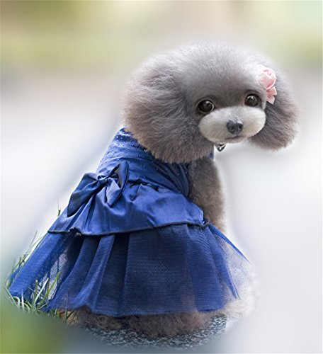 pet-dog-skirt-teddy-poodle-cat-little-princess-pompon-skirt-clothes-xs-dark-blue
