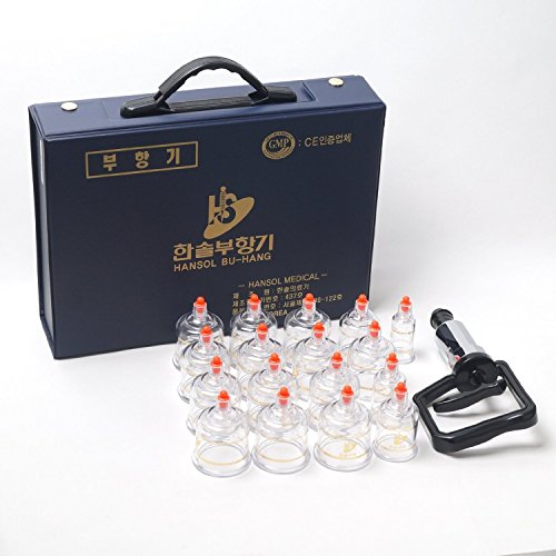 hansol-cupping-therapy-equipment-set-with-pumping-handle-17-cups-by-hansol-medical
