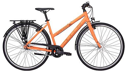 Bulls Urban 8S Eco Trekkingrad (2017) Cityrad, Damen Fahrrad 28 Zoll, 8 Gänge - orange