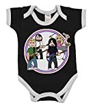 VIPWees Babygrow The Flu Fighters Music Boys & Girls Baby Bodysuit