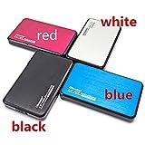 Hanyoug USB 3.0 Portable HDD Externes Gehäuse Festplattengehäuse für 2,5 Zoll SATA HDD und SSD (Color : Red)