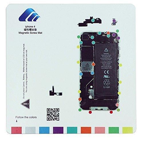 SATKIT Pizarra magnética para organizar Tornillos iPhone 4