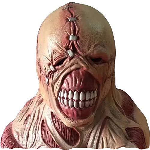 (WETERS Halloween-Maske Horror Widerlich Tote Fleisch Variation Biohazard Zombie Maske Gehen)