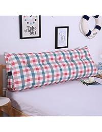 Fu Man Li Trading Company Almohada de doble almohadilla de cojín de almohadilla de almohada A+ ( Color : 4 , Tamaño : 150cm )