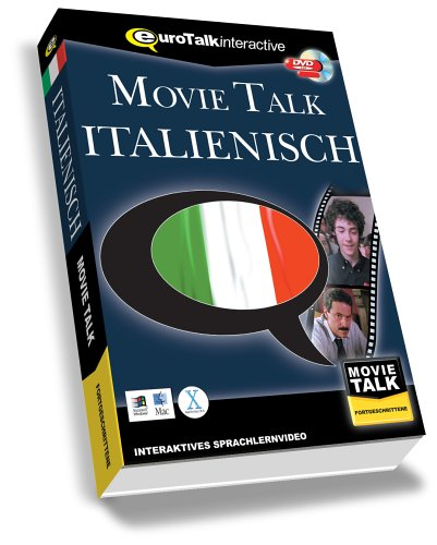 Movie Talk Italienisch, 1 DVD-ROM Interaktives Sprachlernvideo. Für Windows 98/NT/2000/ME/XP und...