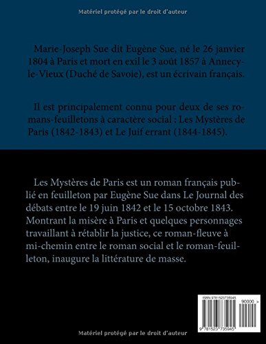 Zoom IMG-1 les myst res de paris