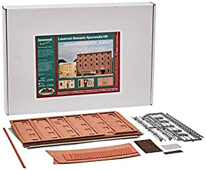 Joswood 17078 - Kit de construcción de Ladrillos 3D con Corte láser de 243 x 74 x 171 mm