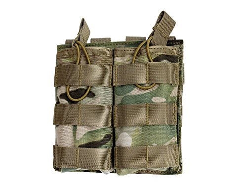 BEGADI Basic MOLLE CQB Open Mag Pouch/Magazintasche 5.56 / M4 / M16 - Double - multiterrain -