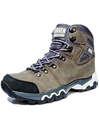 Pataugas Chaussures de randonnee Chaussures montantes Hiking Boots Unisex GUGGEN MOUNTAIN M008 Homme Femmes, Marron, EU 43