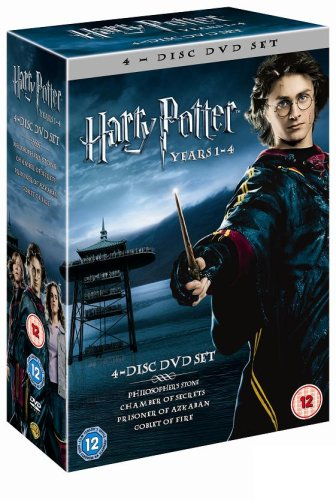 Harry Potter 1 4 Box Set [Reino Unido] [DVD]
