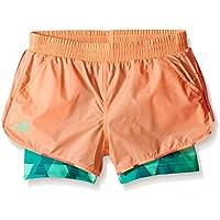 adidas niña del Club de Tenis Trend pantalones cortos - S1607W558G, Claro / rojo pastel