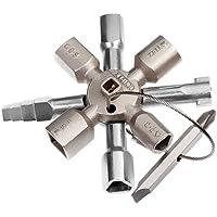 Knipex TwinKey 00 11 01 - pour armoires électriques, fenêtres et systèmes de sectionnement