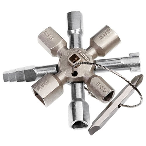 Knipex 00 11 01 TwinKey - für Schaltschränke, Fenster und Absperrsysteme