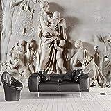 Benutzerdefinierte Fototapete Stereoskopischen Geprägte Engel Hintergrund Wandbild Wohnzimmer Sofa Schlafzimmer TV Hintergrund Wandmalerei 8D 400x280cm