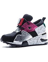 KJJDE Zapatos con Plataforma Mujeres WSXY-A1804 Aire Libre y Zapatos Para Running Senderismo Deportivas