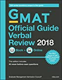GMAT Official Guide 2018 Verbal Review: Book + Online (Official Guide for Gmat Verbal Review) (English...