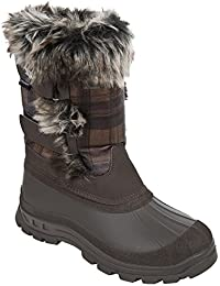 Trespass - Botas de nieve para invierno modelo Brace para mujer