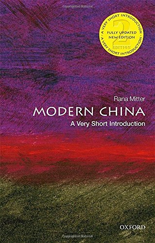 Modern China: A Very Short Introduction 2/e (Very Short Introductions) by Rana Mitter (2016-02-25)