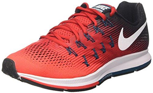 Nike Air Zoom Pegasus 33, Zapatillas de Entrenamiento para Hombre, Rojo (Univ Red/White/Brt Crimson/Black/Legion), 44.5 EU
