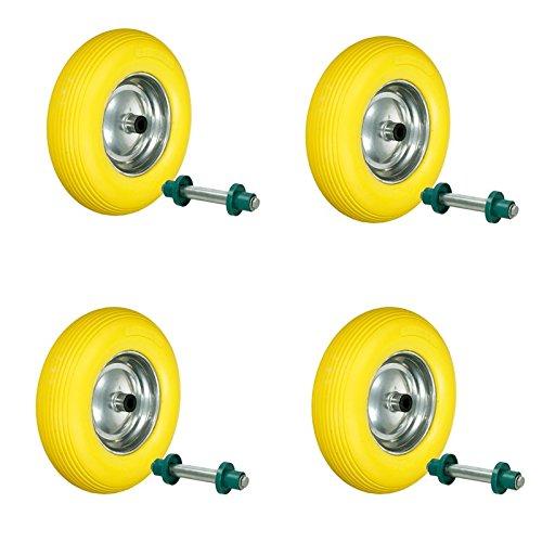 ecd-germany-4-x-llanta-para-carretilla-con-rin-de-acero-pu-480-400-8-390mm-rueda-de-repuesto-de-goma