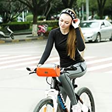 Allium Waterproof Universal Bicycle Smart Phone Pouch Handlebar Bag with Touch Screen Cover Portable Shoulder Bag