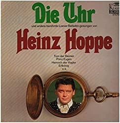 Die Uhr und andere Berühmte Carl Loewe - Balladen [Vinyl, LP, 47 018 FK].