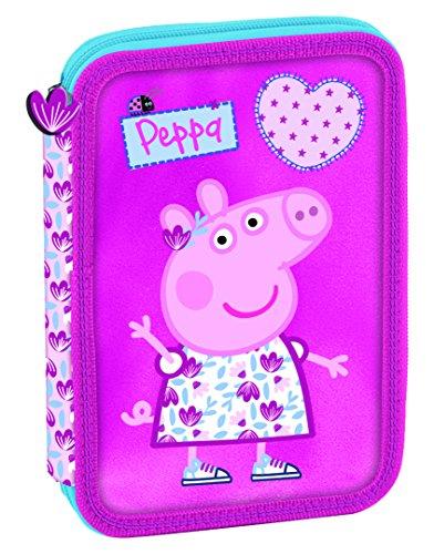 Peppa Pig – Plumier con Relleno, 14 x 20 x 3 cm (Copywrite 101757)