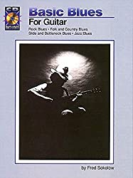 Basic Blues for Guitar: Book/CD Pack by Fred Sokolow (1996-06-01)