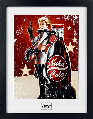 fallout bilder Fallout 4 - Nuka Cola Gerahmtes Bild Mehrfarbig