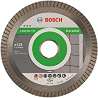 "Bosch Professional 2608602479 Disque à tronçonner diamant""Best Ceramic Turbo EC"" 125 x 22,23"