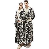 Yvelands Peignoir De Luxe Robe Longue Section Femme&Homme/Couple Pyjamas Salle De...