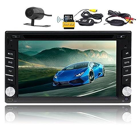 Eincar 6.2inch In dash Headunit digital touch screen Car CD