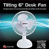 Connect IT 6-Inch Desk Fan