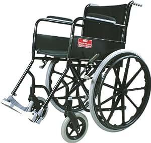 Vissco Black Magic Wheel Chair with Mag Wheels - Universal