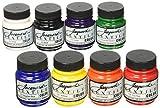 Jacquard Produits Jacquard Textile Couleur Peinture 2.25Oz Tissu Couleurs primaires et Secondaires, Acrylique, Multicolore