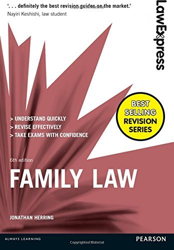 Law Express: Family Law by Jonathan Herring (2016-08-01)