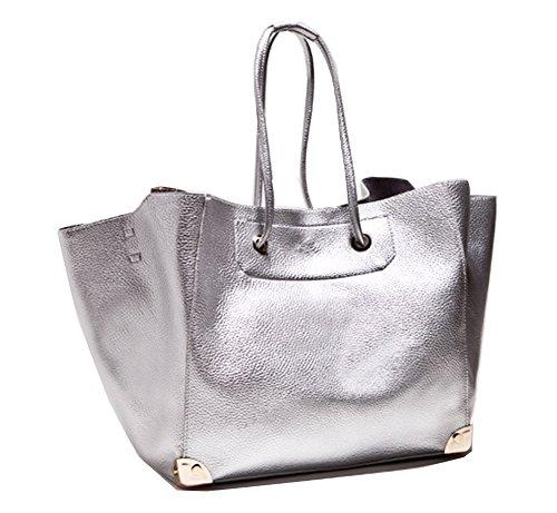 Yan Show, Borsa a tracolla donna argento Silver Silver