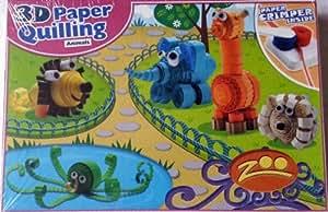 3D Paper Quilling Animals