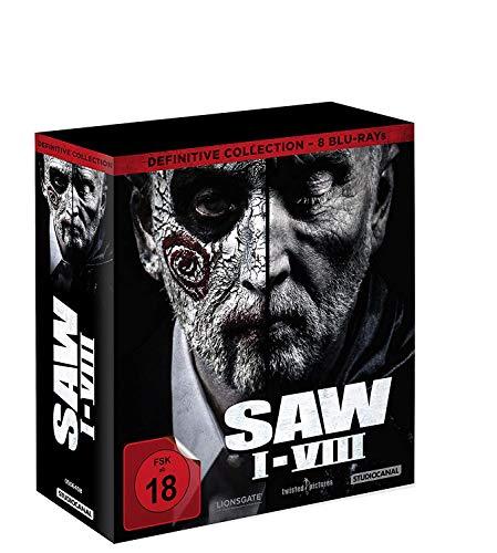 Saw komplett Box inkl. Jigsaw Blu-ray - Sammlerbox