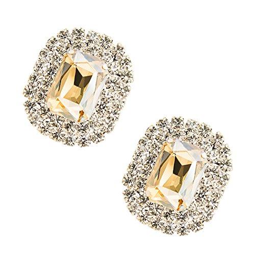 Tooky - Juego dos broches gemas cristales