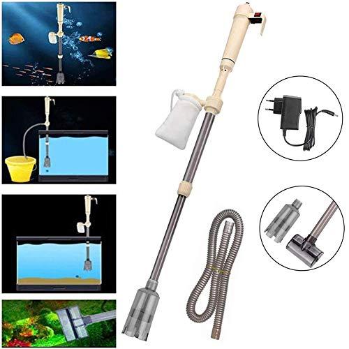 Aquarium Reinigungspumpe,Elektrische Pumpe Aquarium Wasserwechsel Bodenreinigung Mulmsauger Reinigung Wasseraustauschgeräte für Aquarien höhenverstellbar