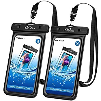 MoKo Waterproof Floating Cell Phone Bag/Case Pouch Dry Bag with