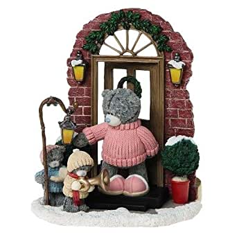 Me to You Tatty Teddy Bear- 19 cm Merrily on High Tatty Teddy Figurine ours de noel Décoration Maison Salle Chambre