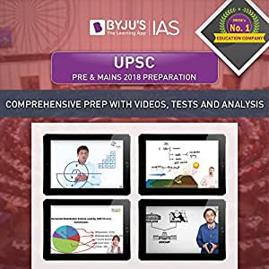 BYJUS UPSC Pre & Mains 2018 Preparation (Tablet)