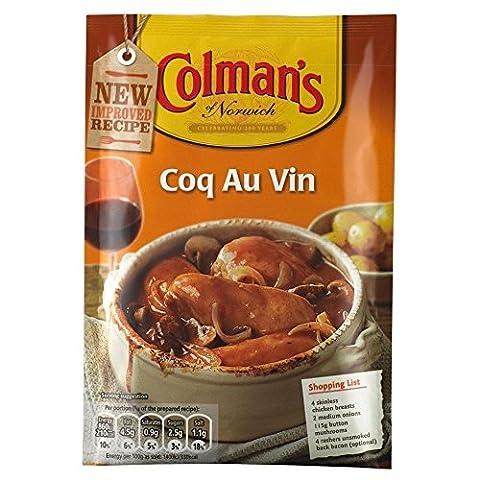 Coq au Vin de Colman Sauce du MIX (48g) - Paquet de 2