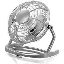 CSL - Ventilatore USB | ventilatore da tavolo / ventola | PC / notebook | in antracite