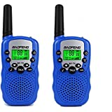 Baofeng BF-T3 Child Handheld Walkie Talkie, 22 Channel FRS/GMRS Two-Way Radio Transceiver For Kids & Youth, Outdoor Radios(2 PCS Bule)