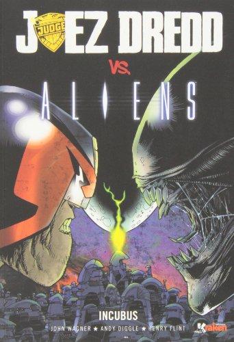 Juez Dredd vs. Alien (Steve Canyon)